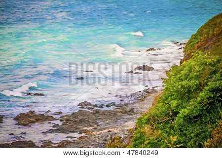 Romantic Ocean Coast