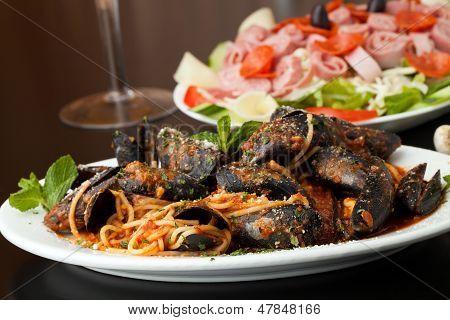 Zuppadi Mussels Dinner