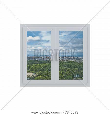 3d window
