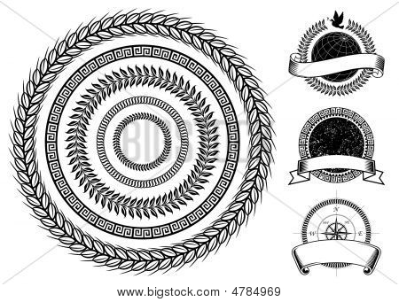 Circle Frame Elements