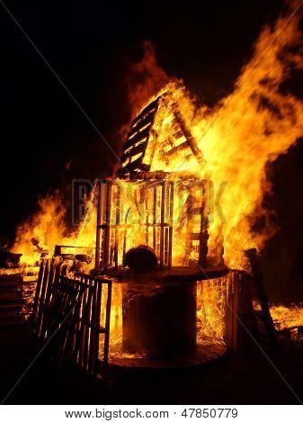 Bonfire House