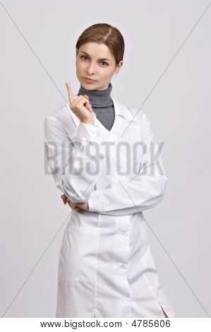Young Beautiful Doctor