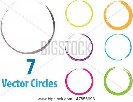 Vektor-Kreise