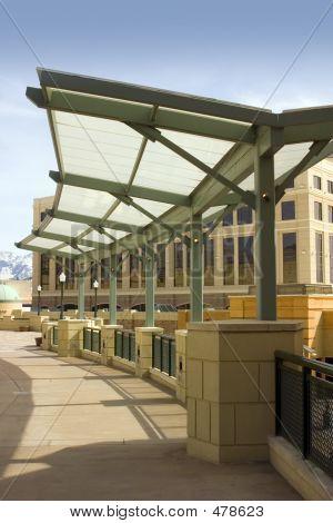 Open Mall Sidewalk Roof