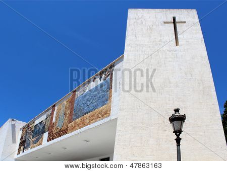 The Parish Church Of Nuestra Señora De Las Nieves Is Located In