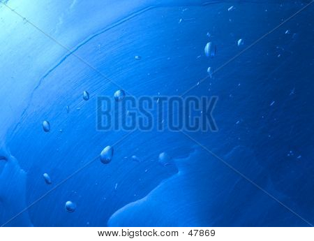Blue Drops Background III