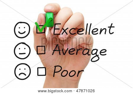 Excellent Customer Service Evaluatieformulier