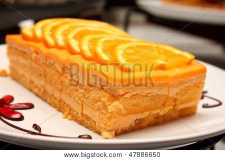 Delicious Orang Cake