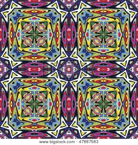 Textile design from Latin America