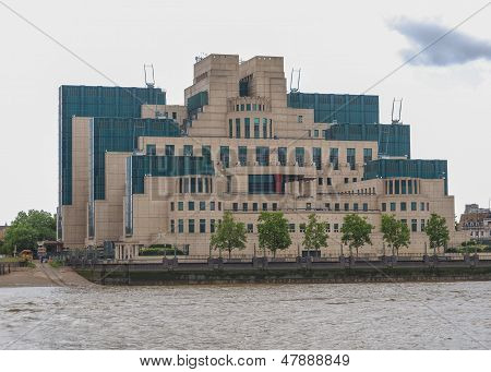 British Secret Service Buidling