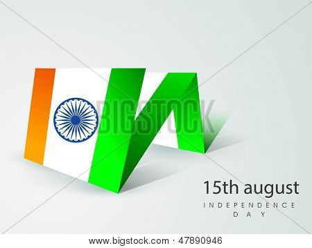 Creative background  for Indian Independence Day.