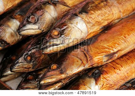 Smoked fish on sale