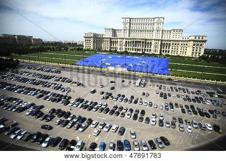 Romanian Palace Of Parliament