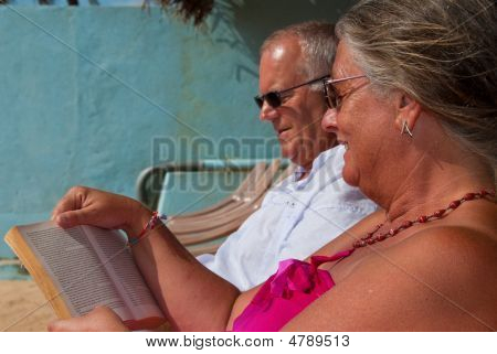 Mature Couple Reading