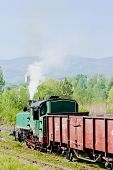 stock photo of former yugoslavia  - steam freight train - JPG