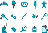 stock photo of bonefish  - Vector icons pack  - JPG