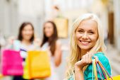 pic of overspending  - shopping and tourism concept  - JPG