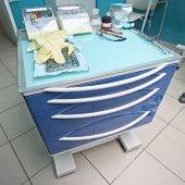 picture of movable  - Medical movable bedside - JPG