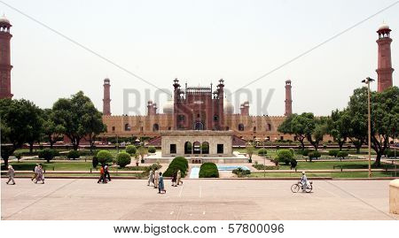 Badshahi Mosque in Lahore