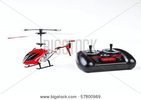 Radio-controlled Model Of The Helicopter