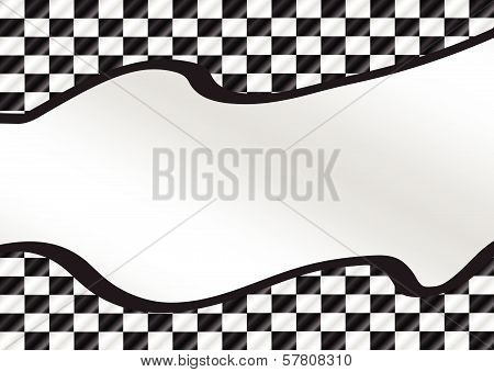 Design Race Flag Checkered Flags set