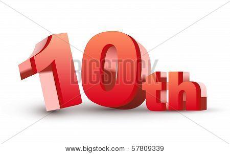 3D Anniversary, 10Th