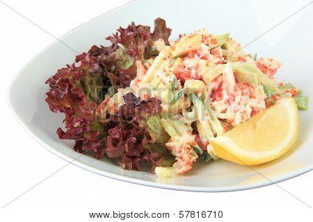 Salad California Closeup