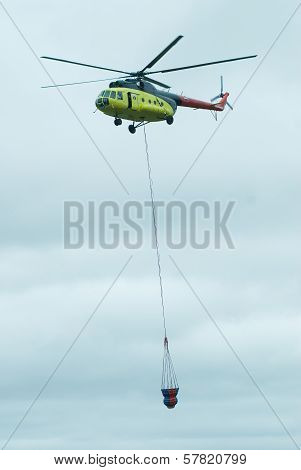 Fire Helicopter from Russia