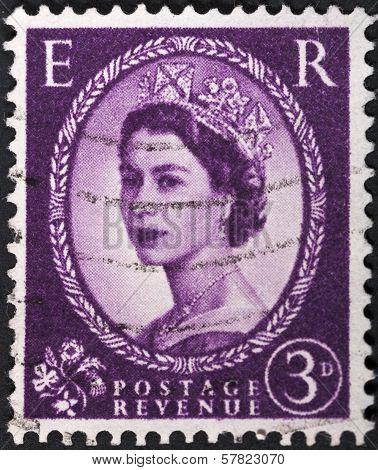 Queen Elizabeth By Dorothy Wilding On Deep Lilac