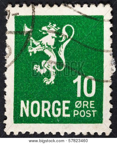 Norwegian Monarchy Lion