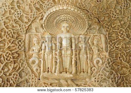 India, Jain Temple In Ranagpur,