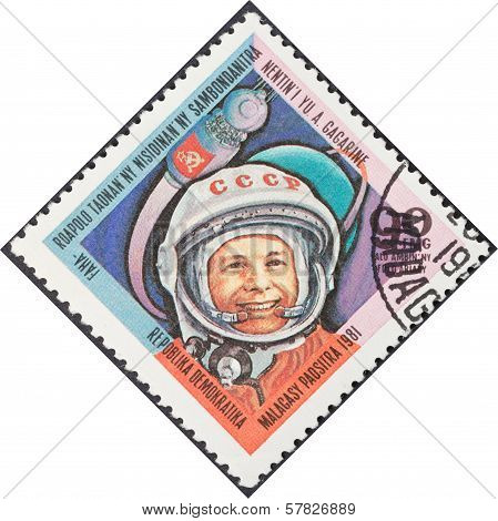 First Astronaut Yuri Gagarin