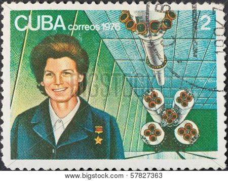 First Woman Astronaut Valentina Tereshkova