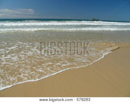 The Line Of The Sea Shore