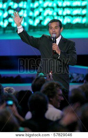 Antonio Villaraigosa   at the Debut of L.A. Live's 'Light of Angels'. L.A. Live, Los Angeles, CA. 12-04-08