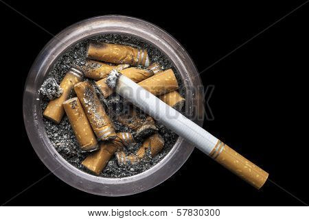 Grungy Ashtray