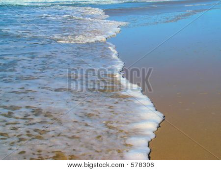 The Line Of The Sea Shore