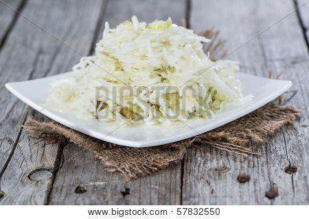 Portion Of Coleslaw