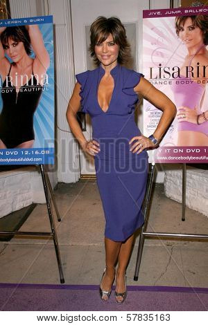 Lisa Rinna   at the launch party for 'Dance Body Beautiful' series of DVDs by Lisa Rinna. Belle Gray, Sherman Oaks, CA. 12-09-08