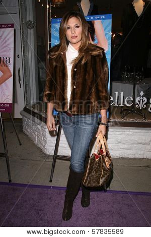 Daisy Fuentes   at the launch party for 'Dance Body Beautiful' series of DVDs by Lisa Rinna. Belle Gray, Sherman Oaks, CA. 12-09-08