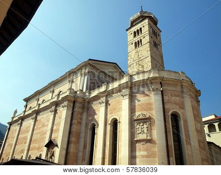 The Well-known Church Of Santa Maria Maggiore, In The City Of Trento