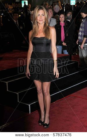 Jennifer Aniston   at Los Angeles Premiere of 'Marley and Me'. Mann Village Theater, Los Angeles, CA. 12-11-08