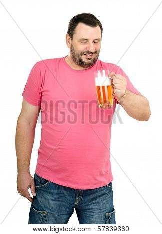 Man Intends To Have A Beer