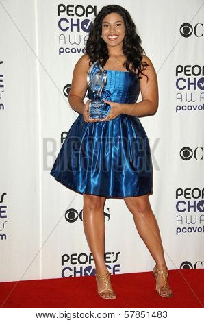 Jordin Sparks  in the press room at the 35th Annual People's Choice Awards. Shrine Auditorium, Los Angeles, CA. 01-07-09