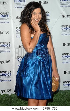 Jordin Sparks  at the 35th Annual People's Choice Awards. Shrine Auditorium, Los Angeles, CA. 01-07-09