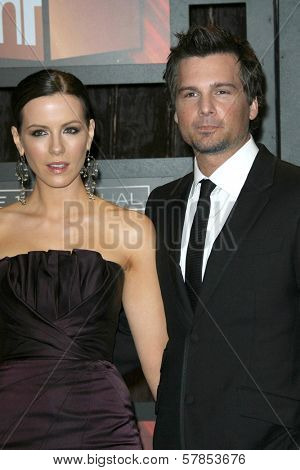 Kate Beckinsale and Len Wiseman  at VH1's 14th Annual Critic's Choice Awards. Santa Monica Civic Auditorium, Santa Monica, CA. 01-08-09