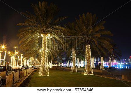Corniche in Doha, Qatar