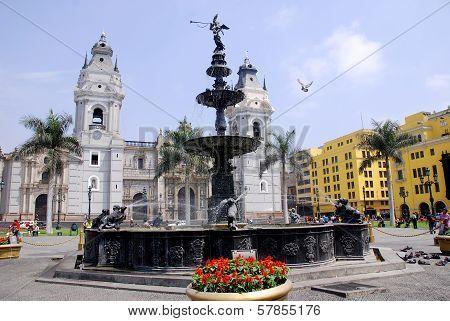 Cathedral at Plaza de Armas