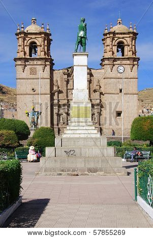 The Cathedral Basilica San Carlos Borromeo or Puno