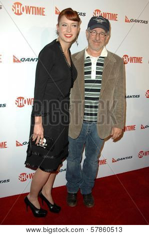 Diablo Cody and Steven Spielberg  at the Premiere Screening of 'United States of Tara'. Directors Guild of America, Los Angeles, CA. 01-12-09